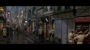 Irma La Douce on the street