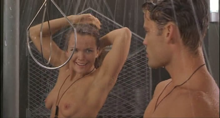 Nude shower scene starship troopers