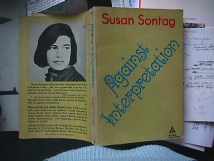 Against Interpretation, Sontag, Susan