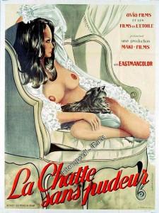 LaChattesanspudeur-poster