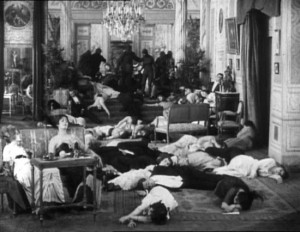 les vampires sleeping bodies