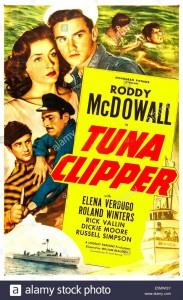 tuna-clipper-us-poster-top-from-left-elena-verdugo-roddy-mcdowall-E5MWGY