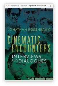 Cinematic Encounters 1 cover