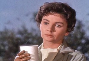 Elmer Gantry Jean Simmons as Sister Falconer