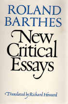 new critical essays barthes New critical essays barthes, i've never written a research paper before, rsm san jose homework help by posted in uncategorized on mar 18, 2018.