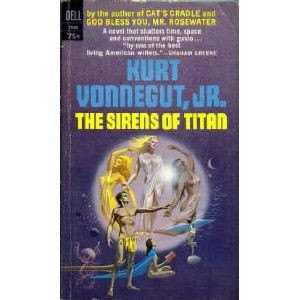 an analysis of kurt vonneguts second novel the sirens of titan Based on the novel by kurt vonnegut jr  sirens of titan  see additional info ( such as project notes, plot summary and industry news)  bluebeard ii drama.
