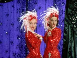 Marilyn Monroe & Jane Russell in Howard Hawks' GENTLEMEN PREFER