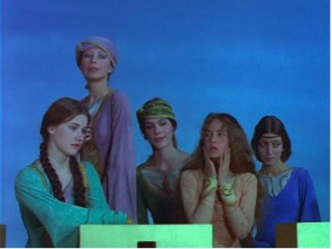 Perceval-female chorus